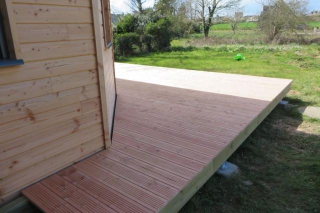 Terrasse en bois finistere
