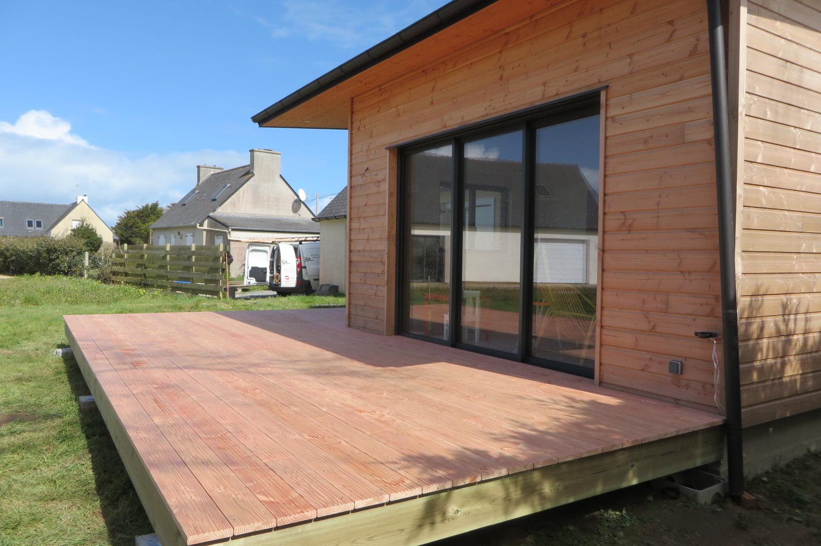 extension bois hors d 39 eau hors d 39 air lannilis maisons bois acacia. Black Bedroom Furniture Sets. Home Design Ideas