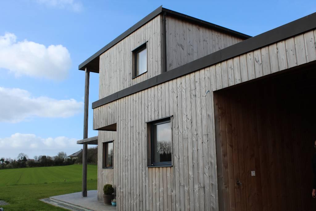 maison bois loperhet - l'Acacia