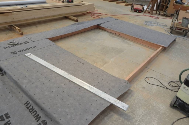 Fabrication atelier - l'acacia