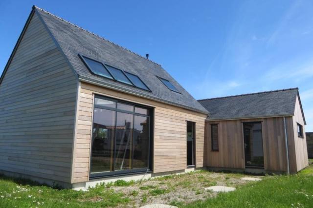 maison ossature bois landeda - scop Acacia