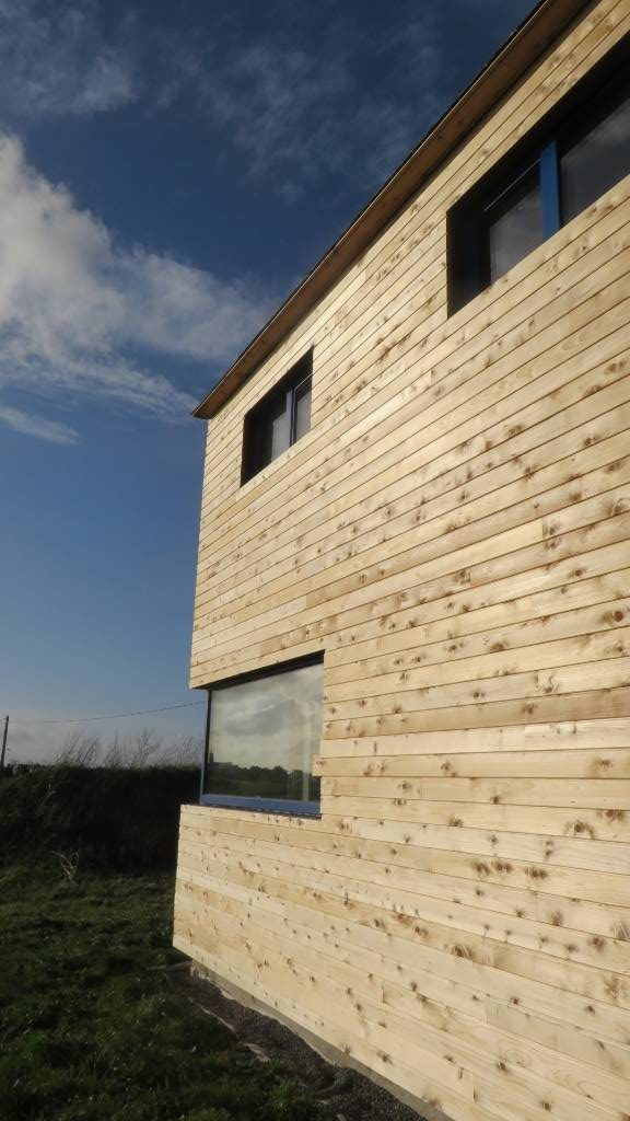 Maison passive bois - Scop L'Acacia
