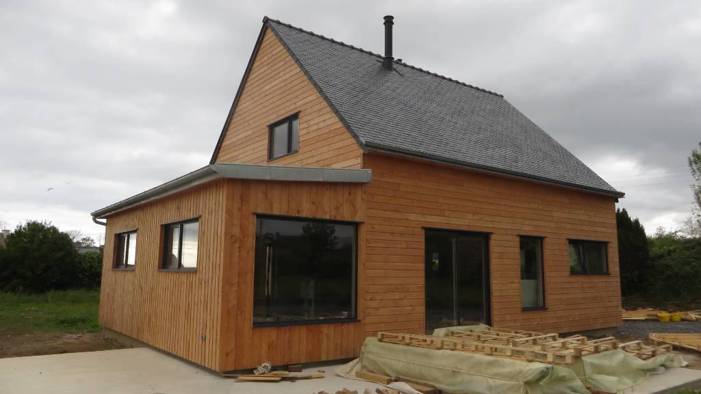 Maison ossature bois Landeda