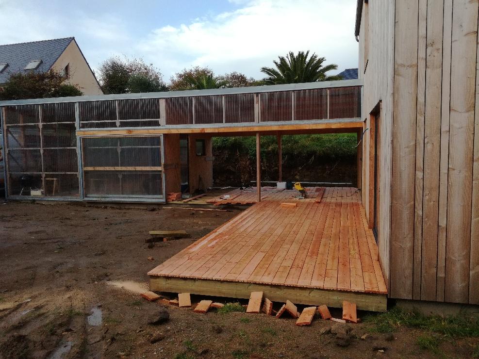 Terrasse douglas - l'Acacia