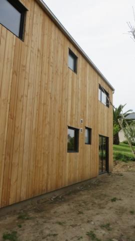 Maison ossature bois - scop l'Acacia
